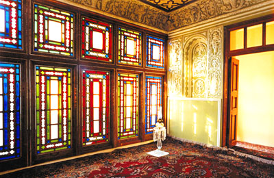 Room of the Báb's home in Shiraz, Iran, where He declared His mission, May 1844